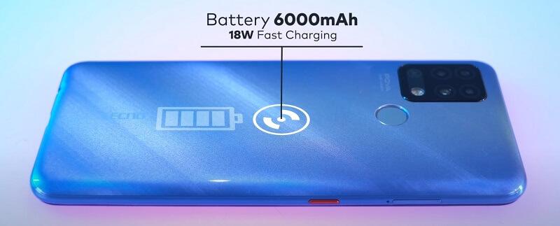 Tecno POVA Battery