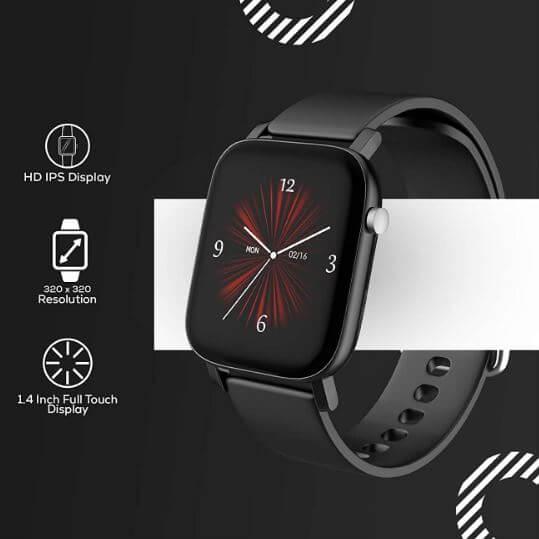 AQFit W11 Smartwatch Design