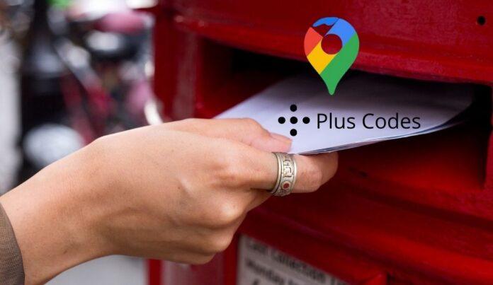 General post office using google plus codes