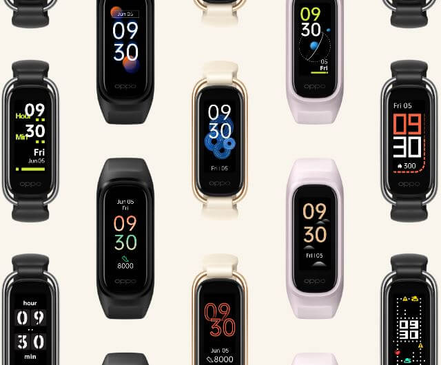 OPPO Band Style Watch Faces