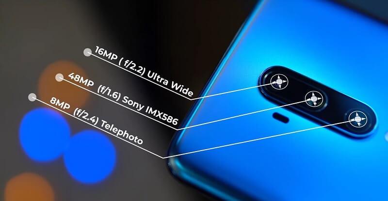 OnePlus 7T Pro Rear camera