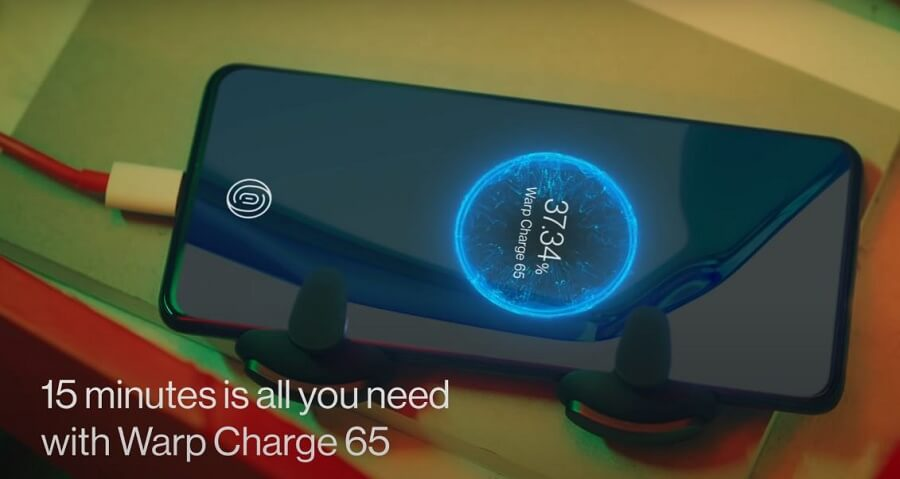 OnePlus 9R Battery Charging