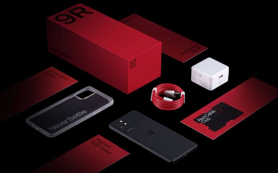 OnePlus 9R Design and Build Quality