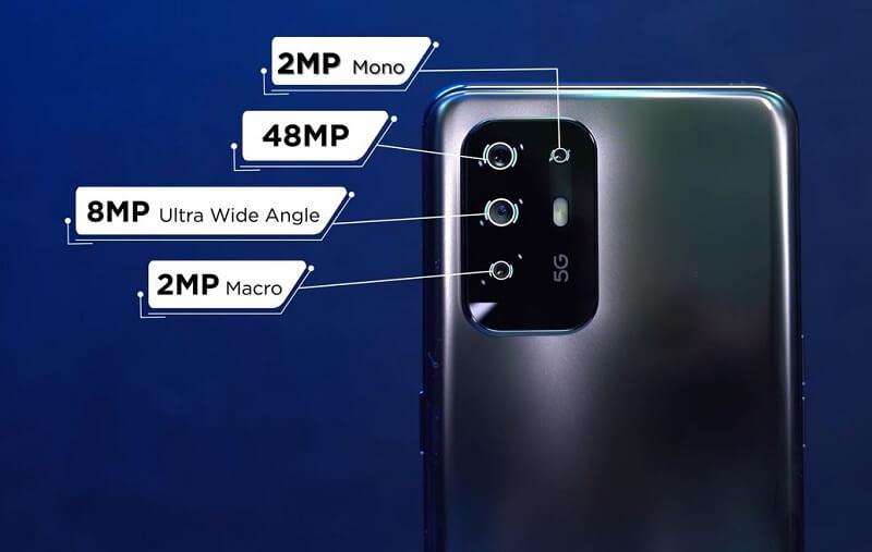 Oppo F19 Pro+ Rear Camera