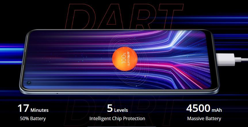 Realme 8 Pro Battery