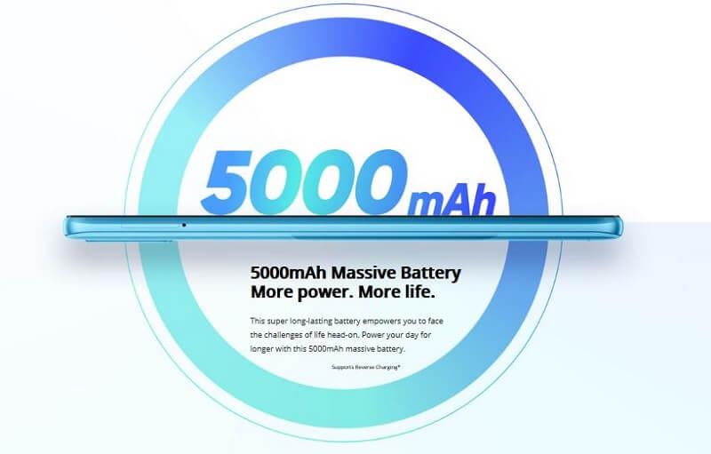 Realme C21 Battery