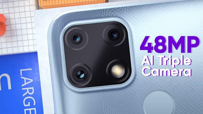Realme C25 Camera