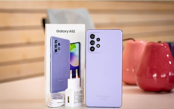 Samsung Galaxy A52 Design and Build Quality