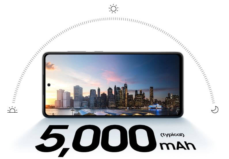 Samsung Galaxy A72 Battery