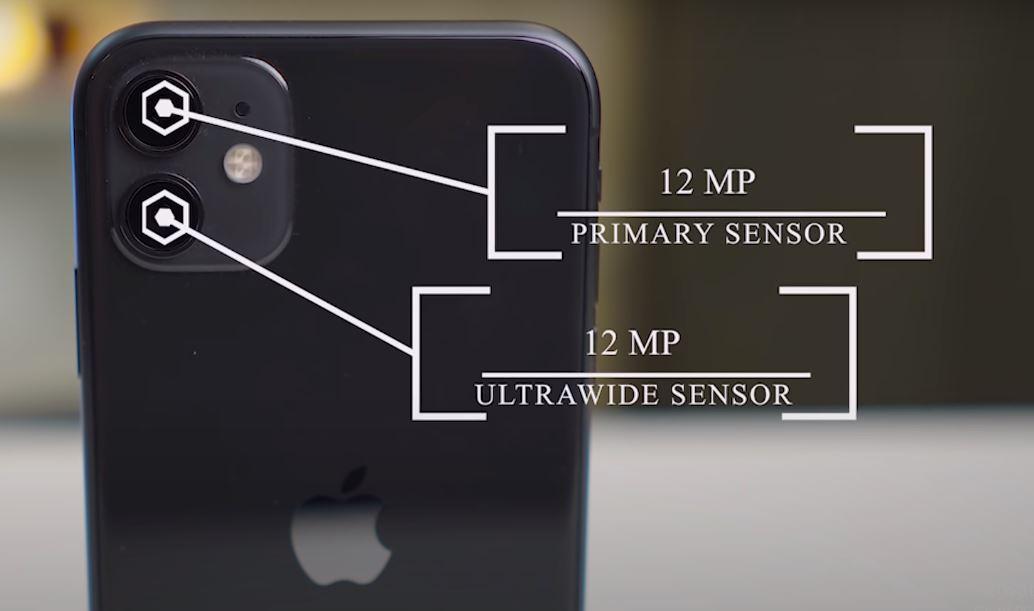 I phone 11 Back Camera specs