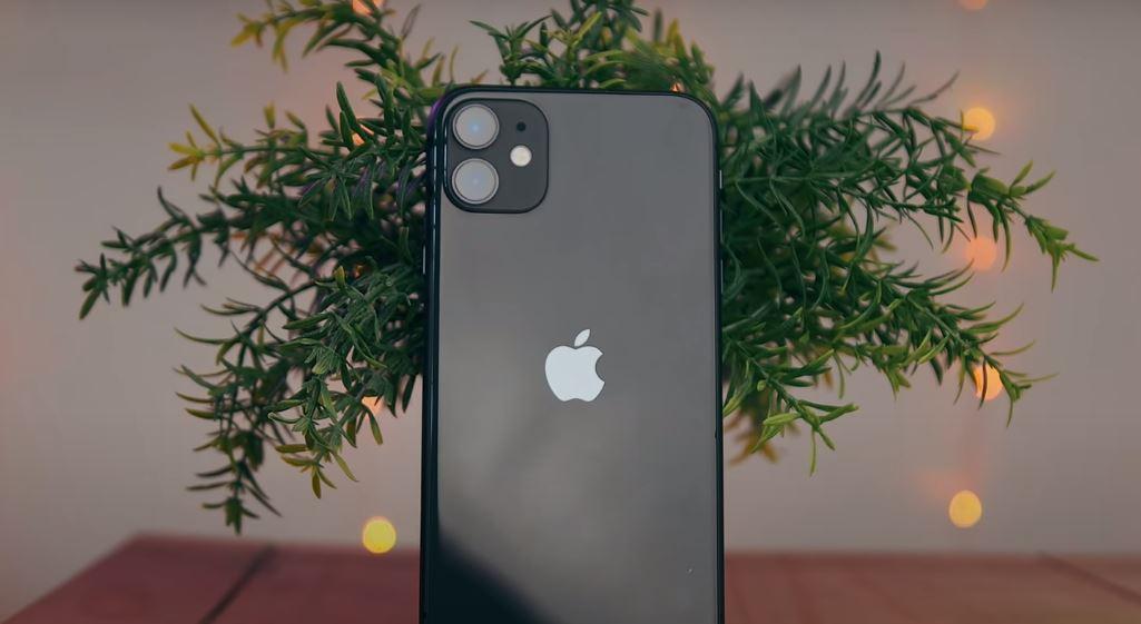 i phone 11 black color back design