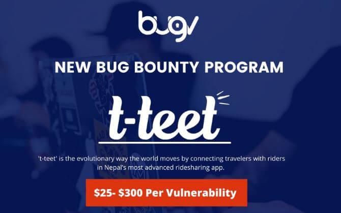 t-teet bounty program