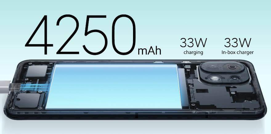Mi 11 Lite 5G Battery