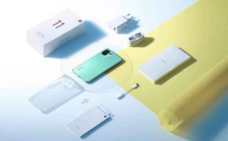 Mi 11 Lite 5G Design and Build Quality