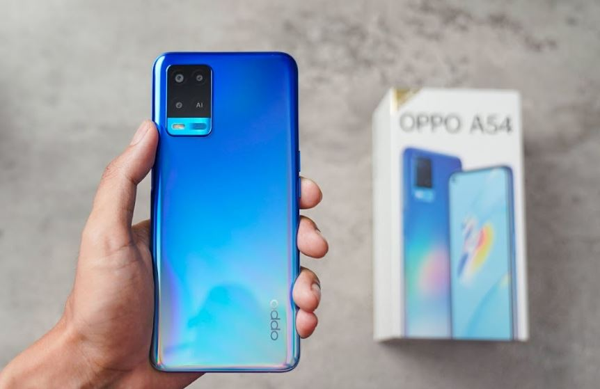 Oppo A54 Design and Build Quality