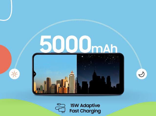 Samsung Galaxy F02s Battery