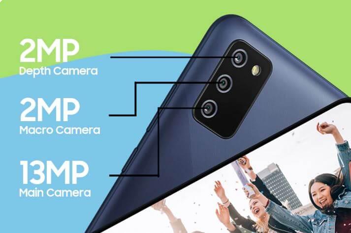 Samsung Galaxy F02s Camera