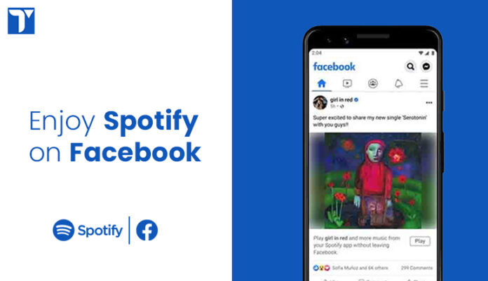 spotify miniplayer for facebook