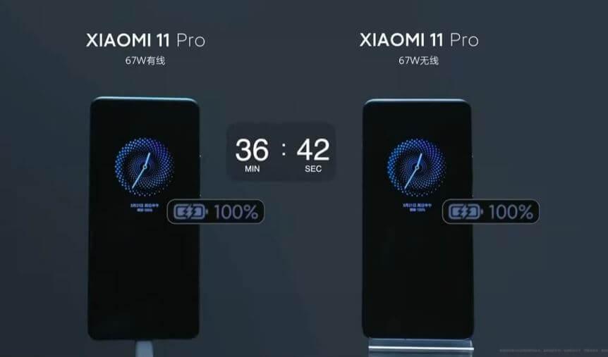 XiaomiMi 11 Pro Battery