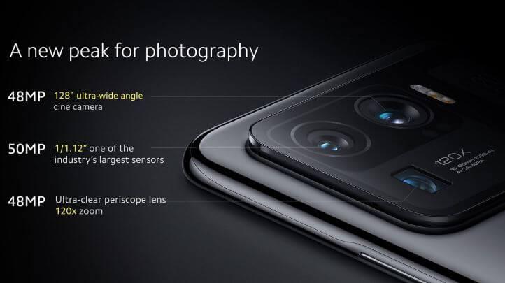 Xiaomi Mi 11 Ultra Camera