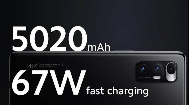 Xiaomi Mi Mix Fold Battery and Charging