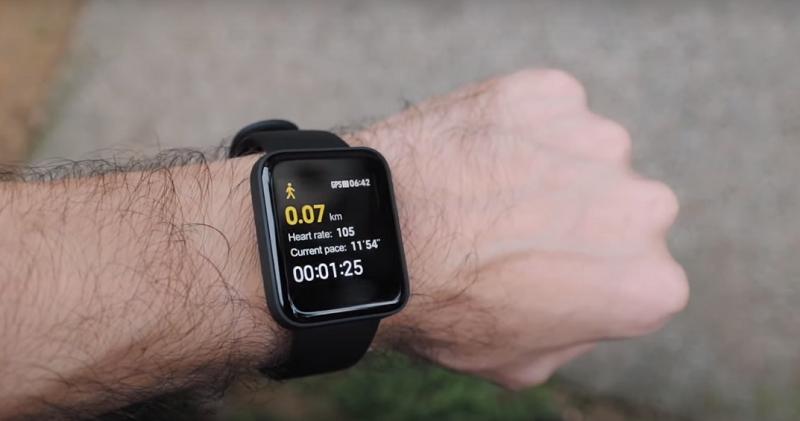 Fitness Sensors data in Mi watch lite