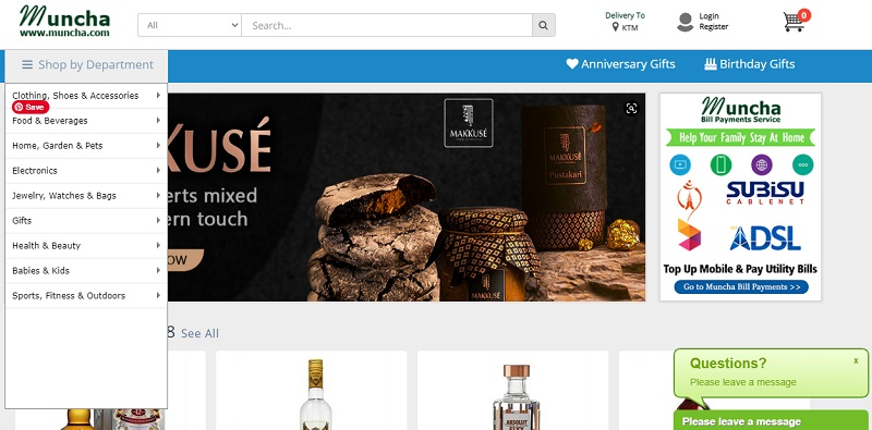 Muncha Homepage