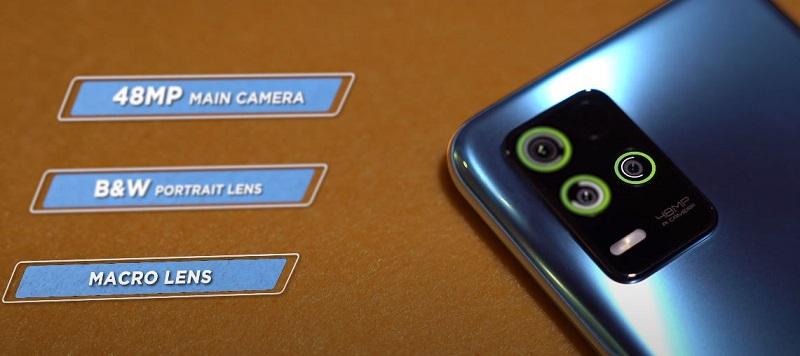 Realme 8 5G back camera specs
