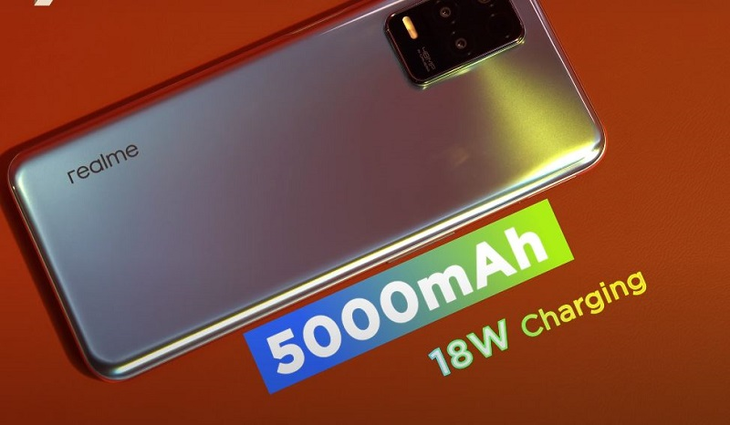 Realme 8 5G battery specs