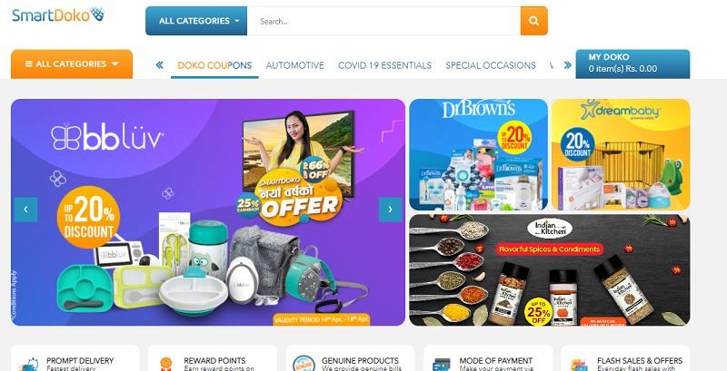 Smartdoko Homepage