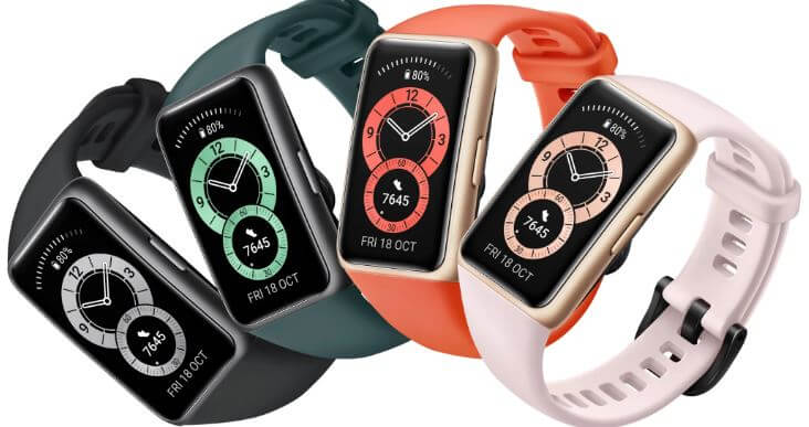 Huawei Band 6 Design and Build Quality