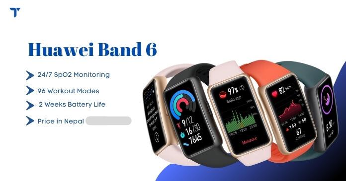 Huawei Band 6 Price in Nepal