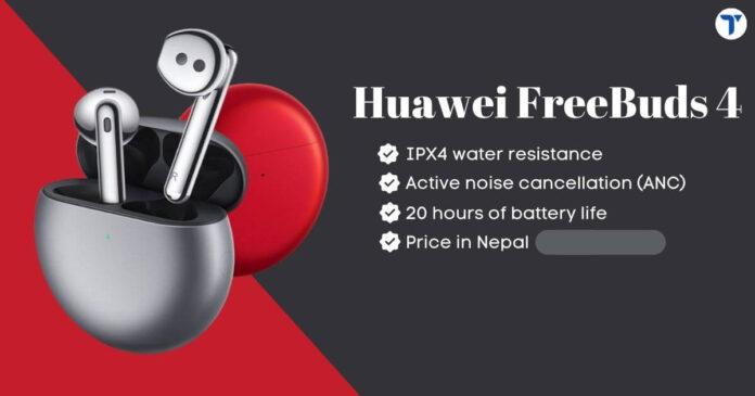 Huawei FreeBuds 4 Price in Nepal