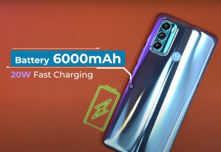 Motorola Moto G60 Battery