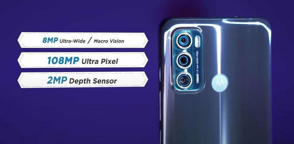 Motorola Moto G60 Camera