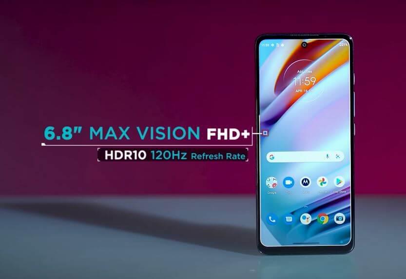 Motorola Moto G60 Display