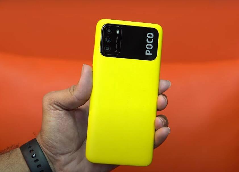 Poco M3 Design and Build Quality