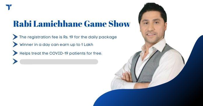 Rabi Lamichhane game show Kam Ka Kura