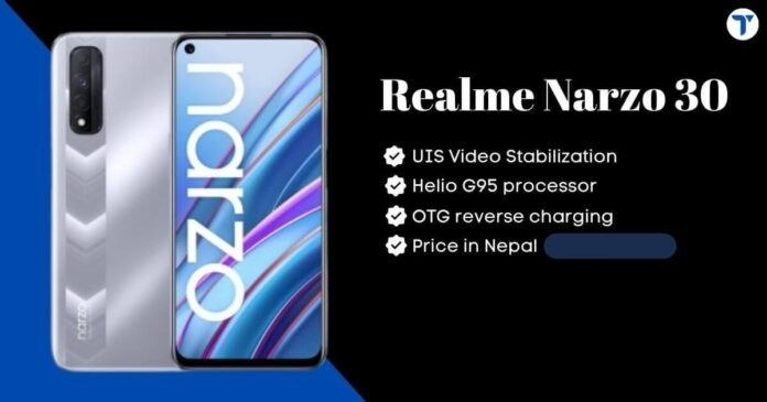 Realme Narzo 30 Price in Nepal