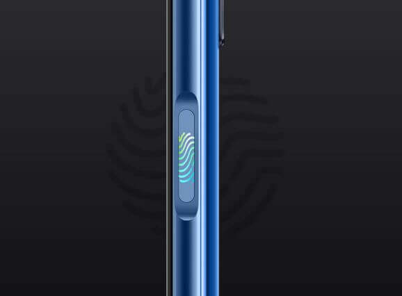 Realme Narzo 30 Side Mounted Fingerprint Sensor