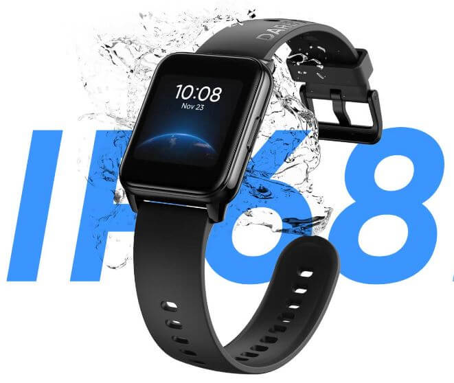 Realme Watch 2 IP68 Rating