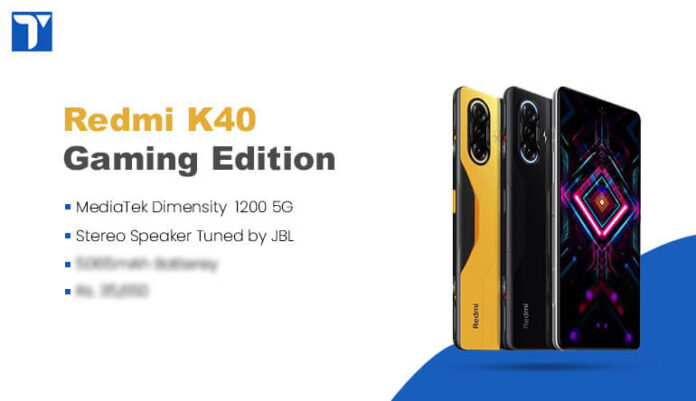 Redmi K40 Gaming Edition Price in Nepal