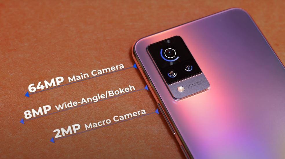 Vivo V21 5G Camera