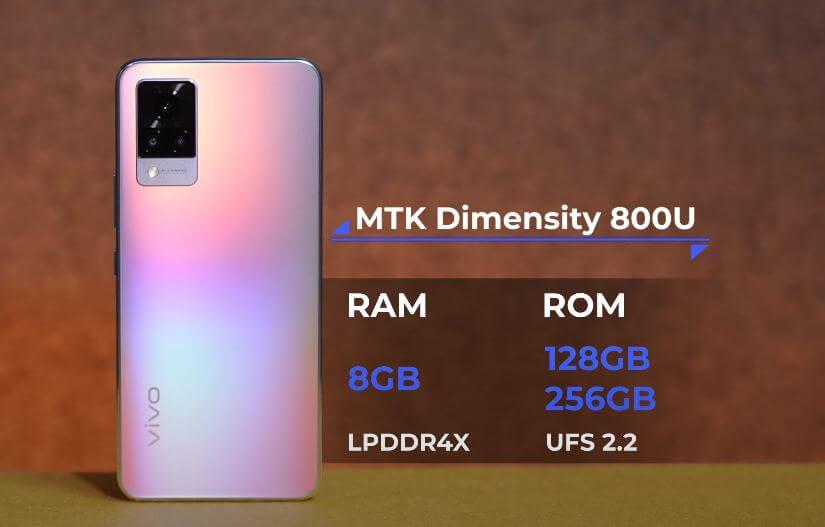 Vivo V21 5G Processor