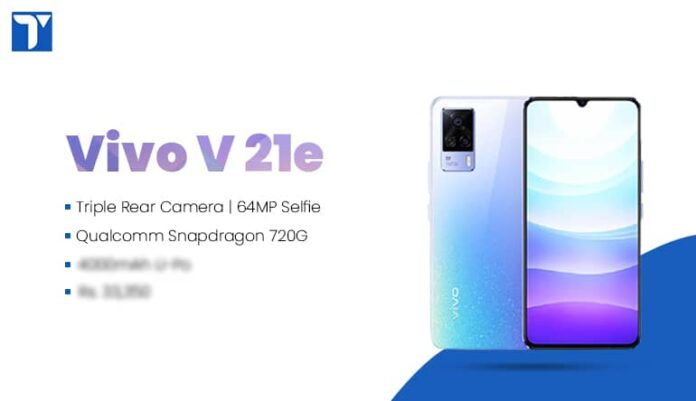 Vivo V21e with 90Hz Refresh Rate, 64MP Selfie Camera Launched in Nepal @Rs. 33,350