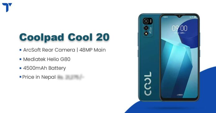 Coolpad Cool 20 Price in Nepal, Specs, Availability
