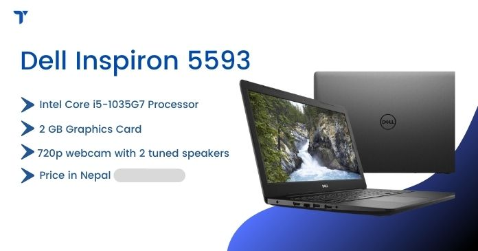 price of Dell Inspiron 5593 in nepal
