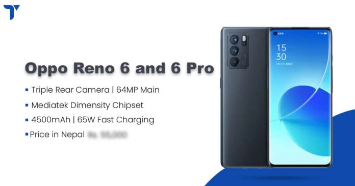 Oppo Reno 6 and Reno 6 Pro Launch, Specs and Availability