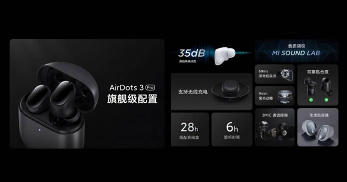 Redmi AirDots 3 Pro Price in Nepal, Specs, Availability