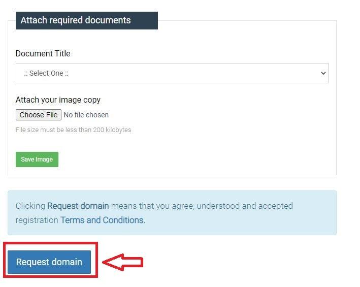 requesting .com.np domain registration